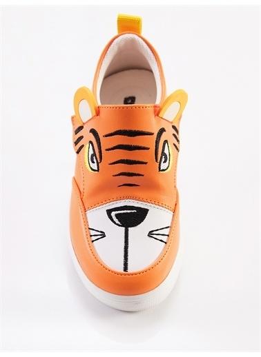 Denokids Kaplan Erkek Sneakers Oranj